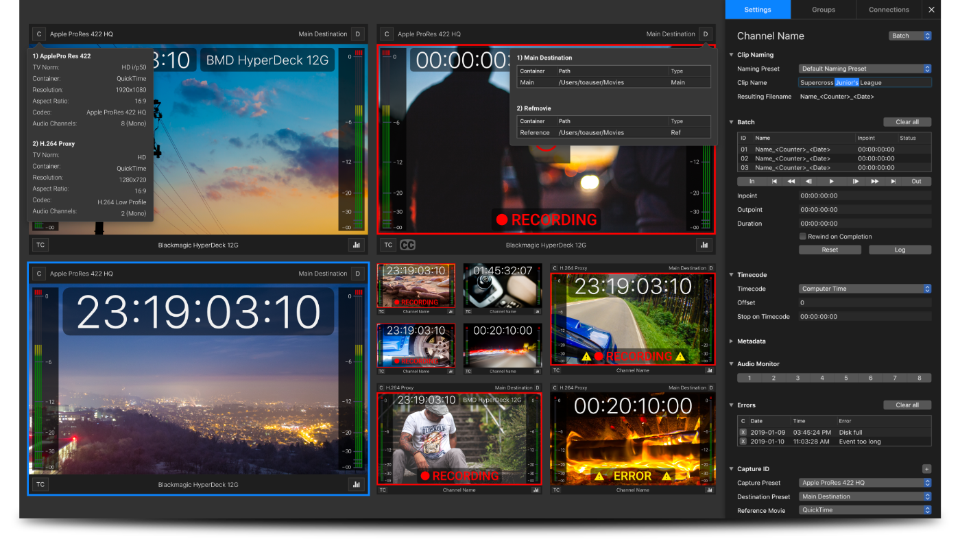 just:in – Tools On Air Broadcast GmbH – TV Station in a Mac